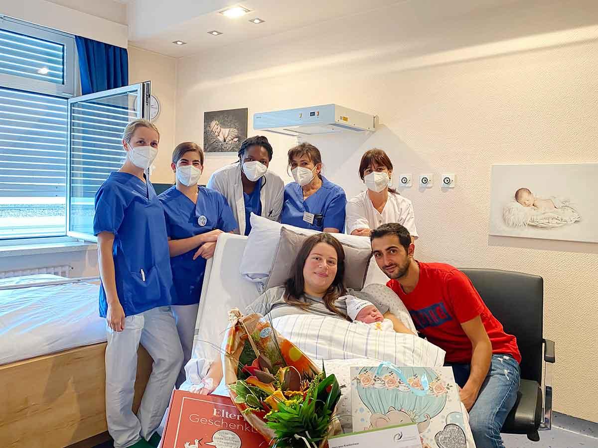 Leonardo ist das 400. Baby in diesem Jahr im Herz-Jesu-Krankenhaus