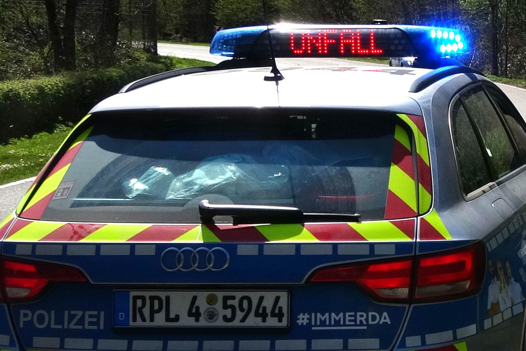 Verkehrsunfall auf der L305 bei Selters