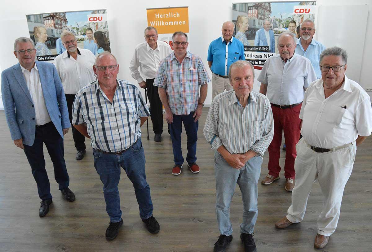 Mitgliederehrung CDU-Kreisverband: Verantwortung für Zukunft der Westerwälder Heimat