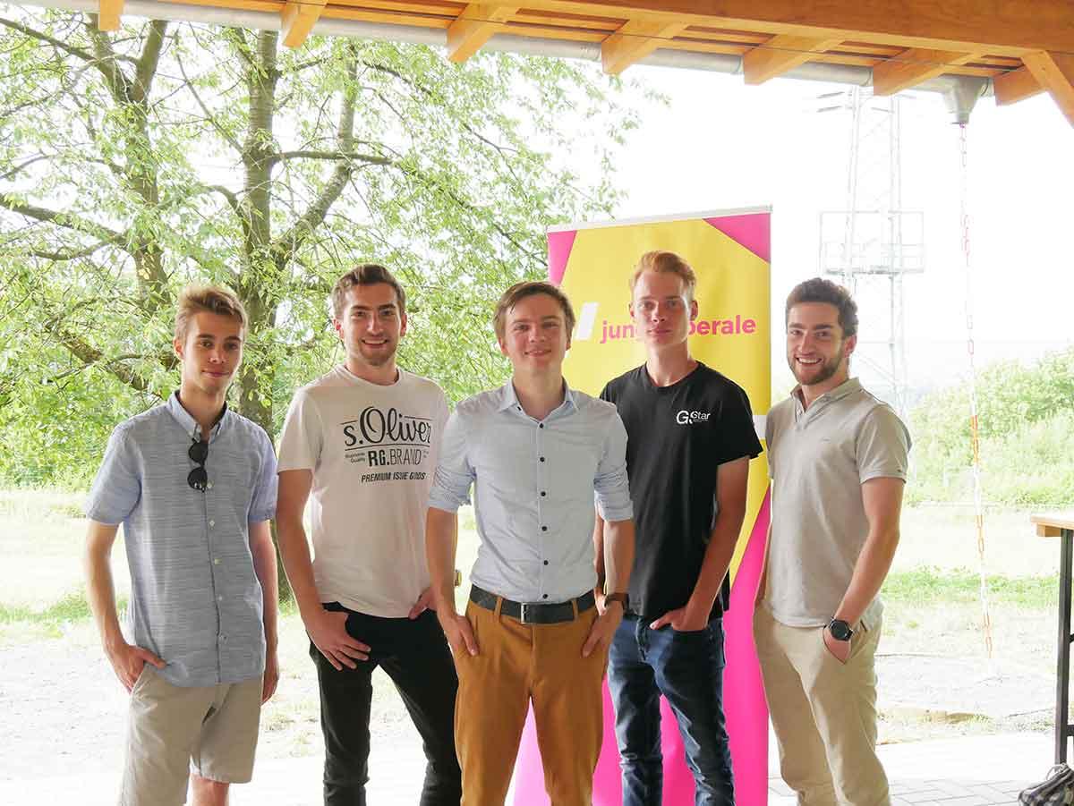 Junge Liberale Koblenz wählen neuen Bezirksvorstand