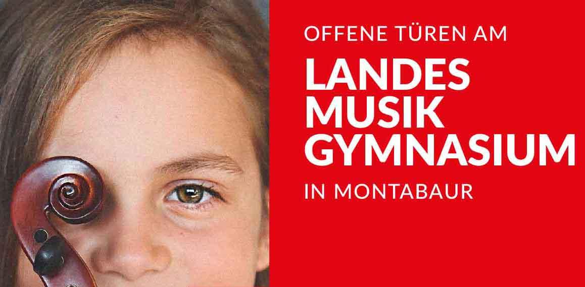 Offene Türen am Landesmusikgymnasium in Montabaur