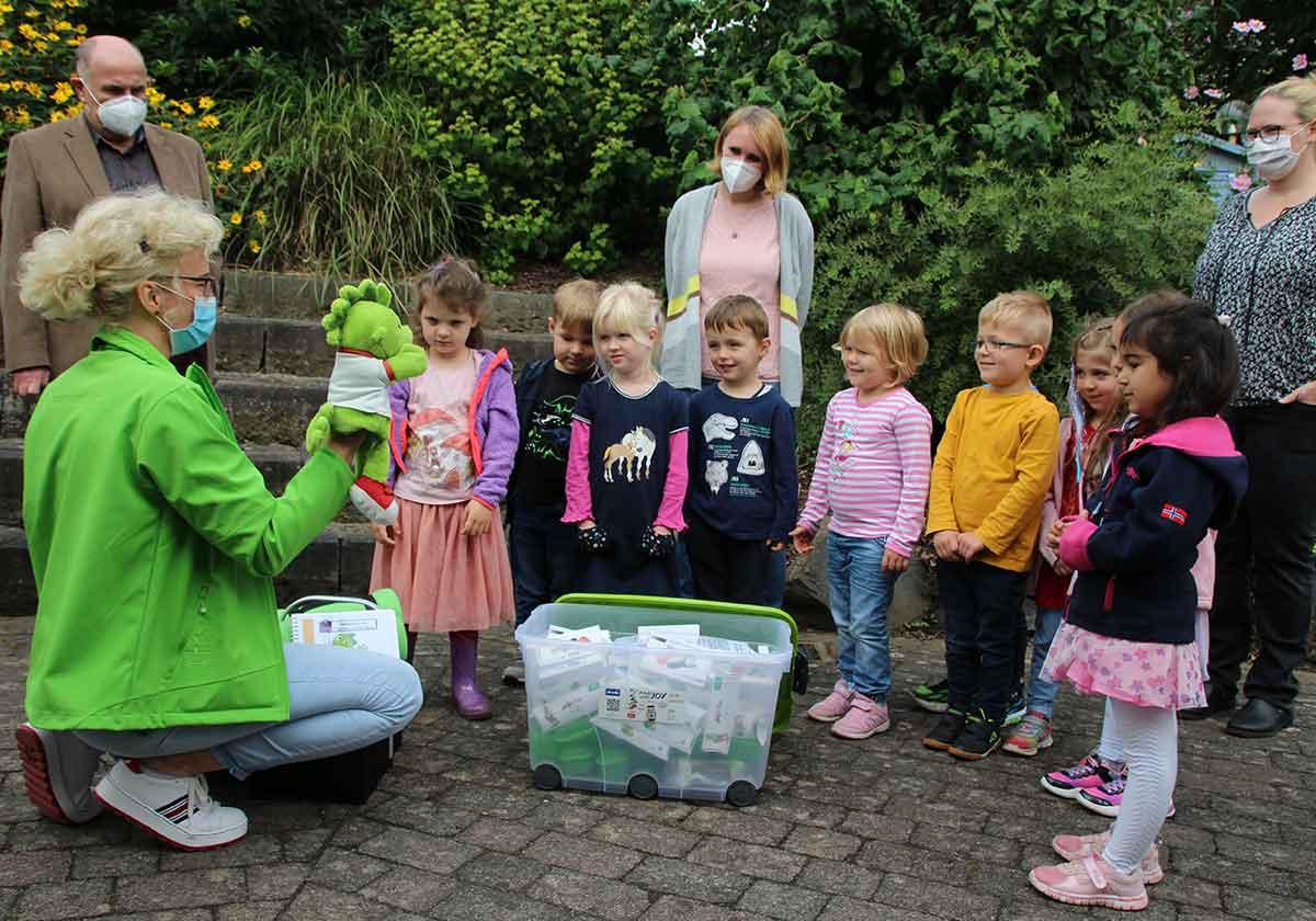 Kindertagesstätte St. Martin gewinnt bei Jolinchen Malwettbewerb