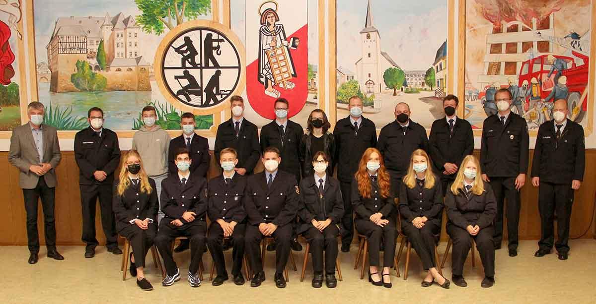 Nachwuchs für die Feuerwehren der Verbandsgemeinde Selters