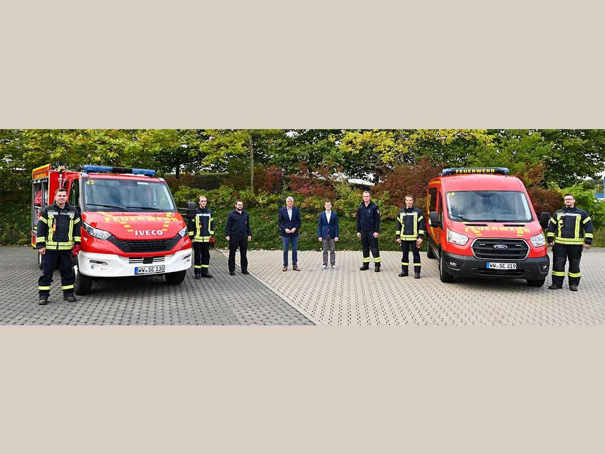 Neue Feuerwehrfahrzeuge für die Feuerwehren Freirachdorf und Rückeroth