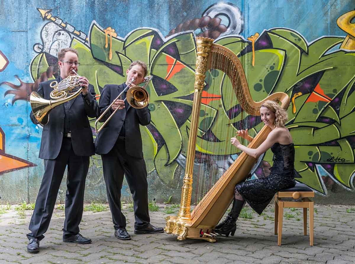 Musik, die die Seele berührt: Trio Glissando Stuttgart gastiert in Bad Marienberg