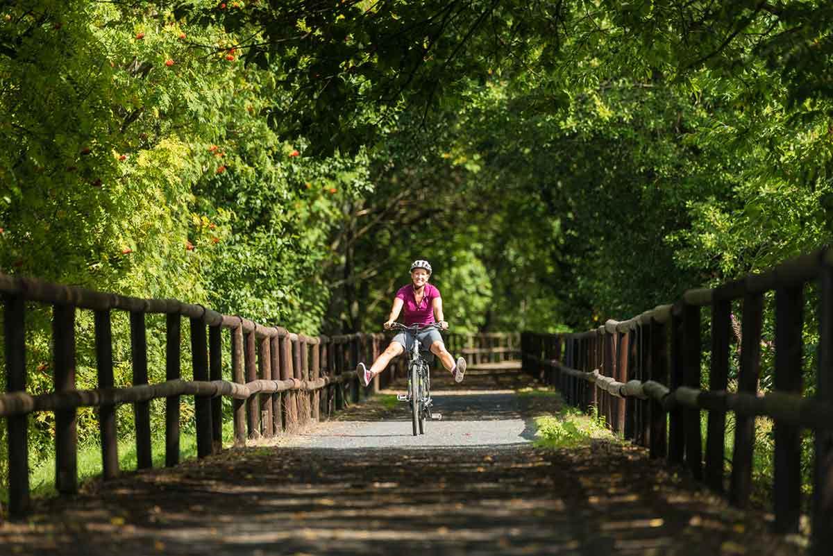 """Radtour """"Rund um den Knoten"""": Rundtour durch typische Westerwald-Landschaft"""