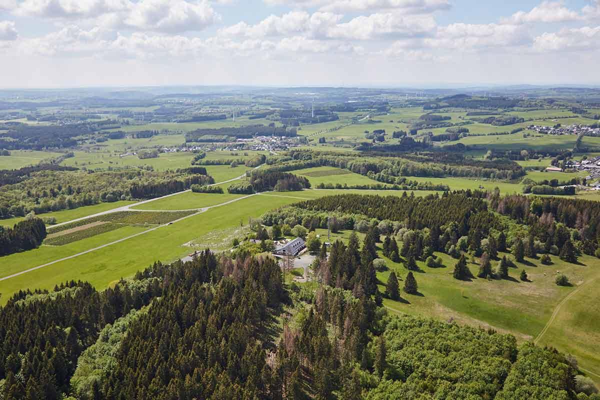 Die Fuchskaute: Der höchste Punkt im Hohen Westerwald