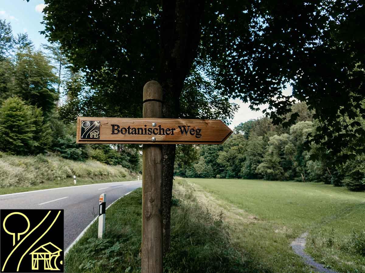 Der Botanische Weg: Wandern im Wegenetz und auf Rundwegen im Wisserland