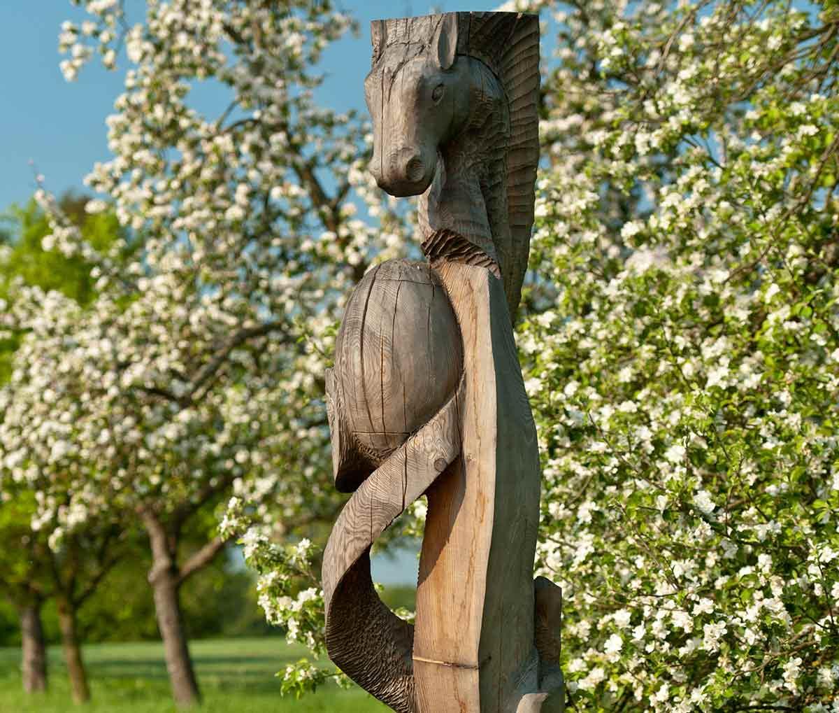 Der Skulpturenweg Reckenthal: Kunstwerke im Gelbachtal bei Montabaur