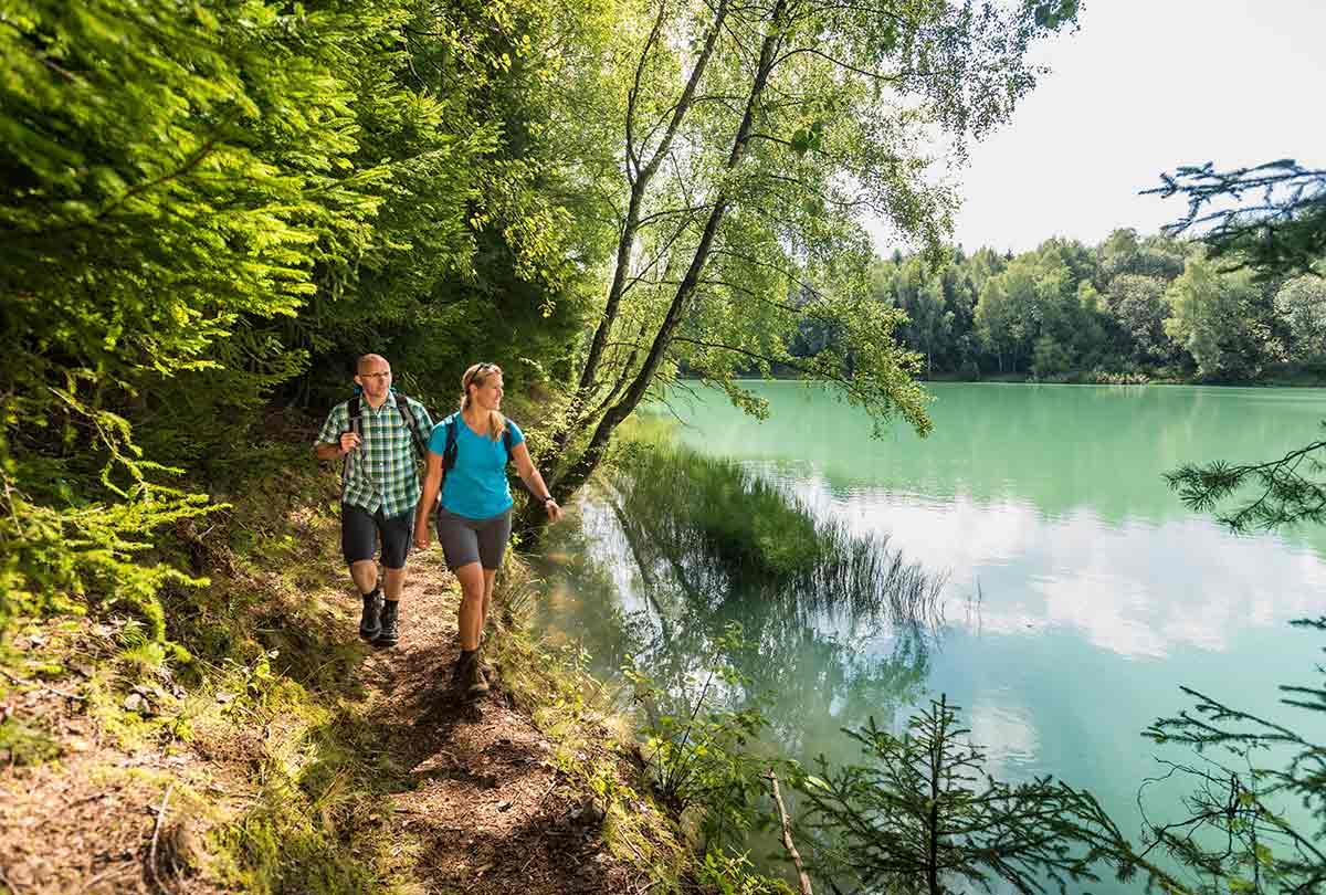 Wassererlebnispfad Hachenburg: Themen-Wanderung rund ums Wasser bei Alpenrod