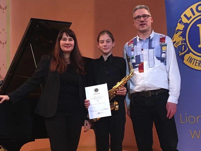 """Gewinn beim Musikwettbewerb des """"LIONS CLUB"""""""