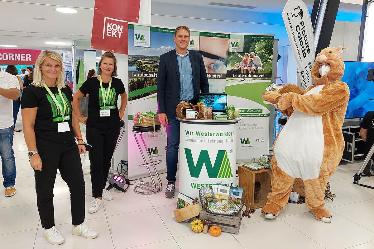 """""""Wir Westerwälder"""" auf der Konekt Netzwerkmesse in Koblenz"""