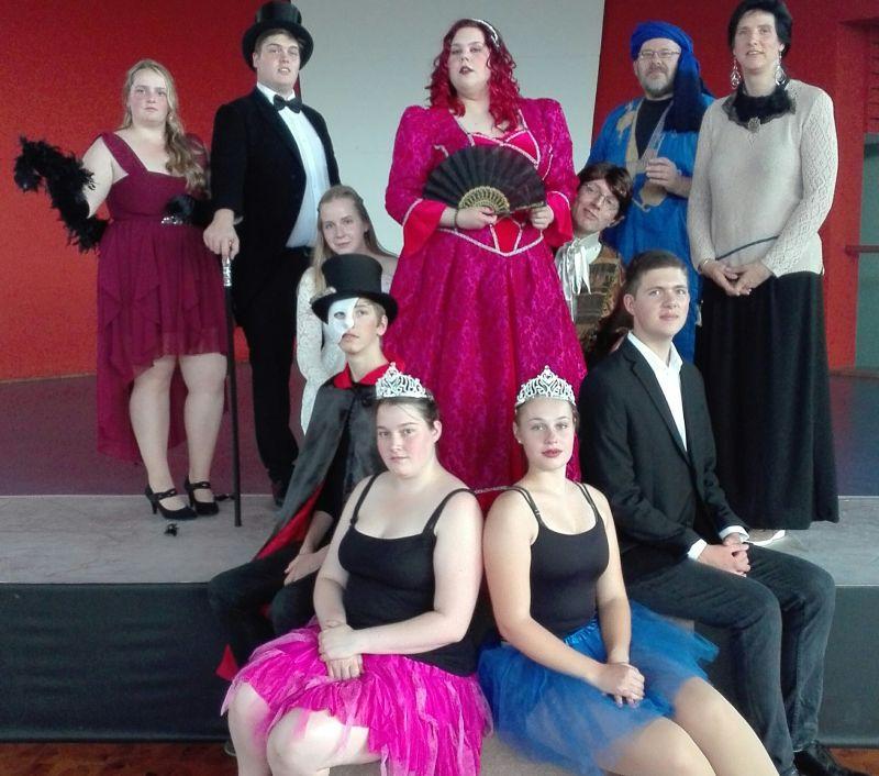 "Bergbühne spielt ""Das Phantom der Oper"""