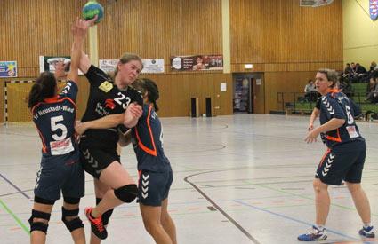 Handballerinnen vom SSV95 Wissen erwischen keinen guten Tag