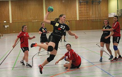 Spielberichte der Handball-Damen des SSV95 Wissen