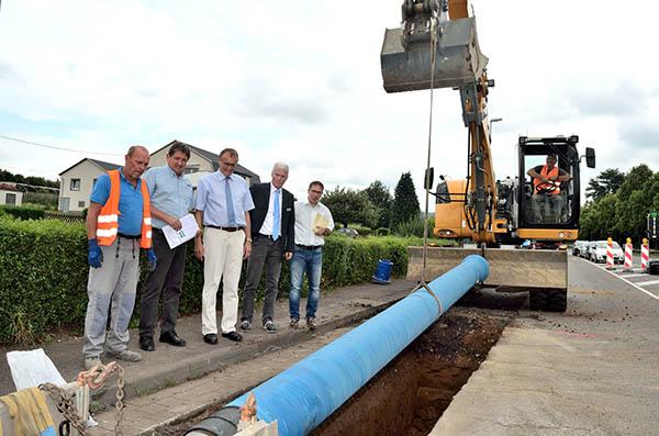 Höhere Sicherheit durch Ausbau der Trinkwasserversorgung