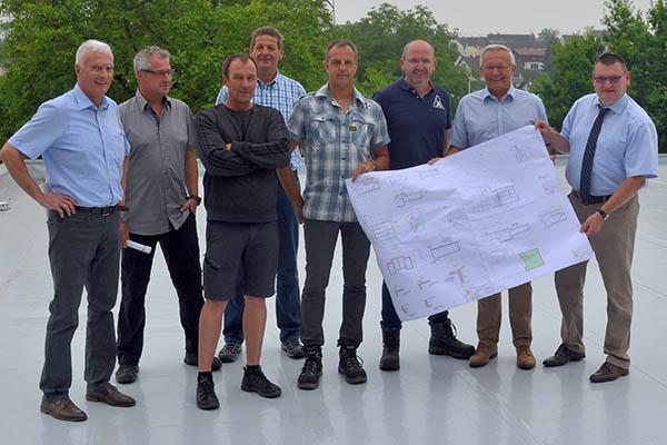 Kreiswasserwerk - Pumpwerk Melsbach wird generalsaniert