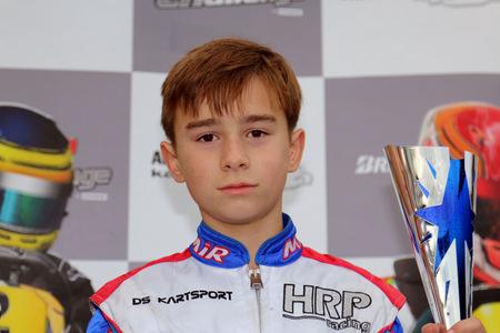 ADAC Kart Cup: Bambini Tom Kalender wird Dritter