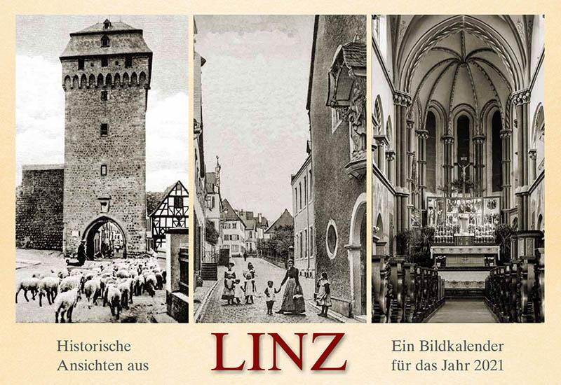 Historische Ansichten Linz: Bildkalender 2021 erschienen