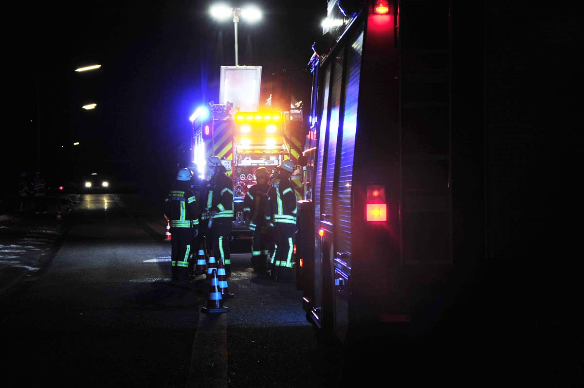 Kaminbrand in Birken-Honigsessen forderte die Feuerwehr Wissen