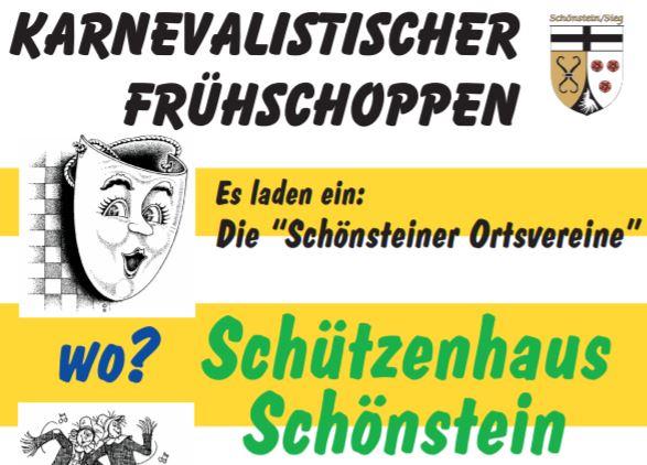 Karnevalistischer Frühschoppen im Schönsteiner Schützenhaus