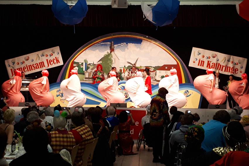 Volles Haus bei integrativer Karnevalssitzung