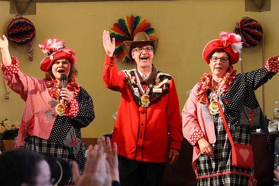 Karnevalsfeier in der Senioren-Residenz Sankt Antonius