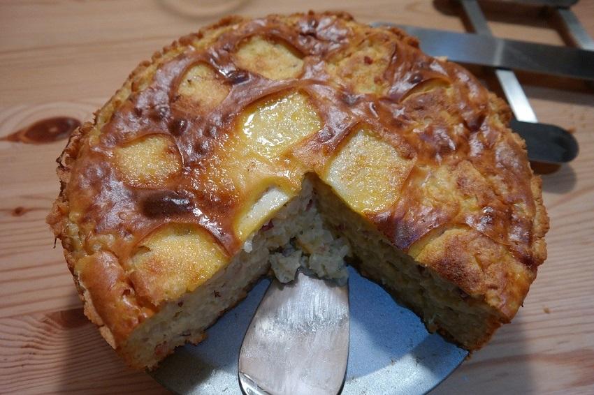 Westerwälder Rezepte: Kartoffel-Speck-Kuchen