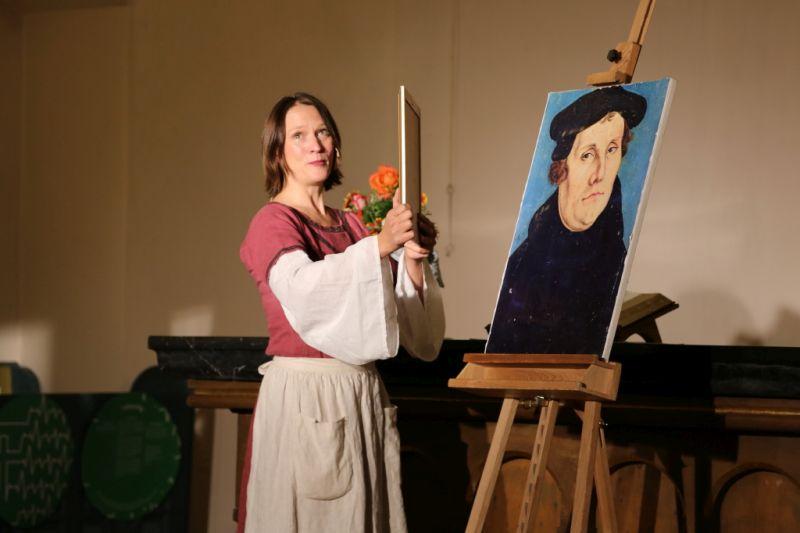 Musical über Liebesgeschichte(n) der Katharina von Bora begeisterte