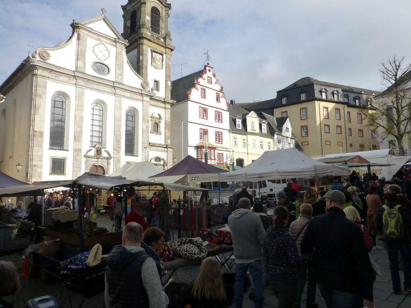Katharinenmarkt in Hachenburg am 2. November