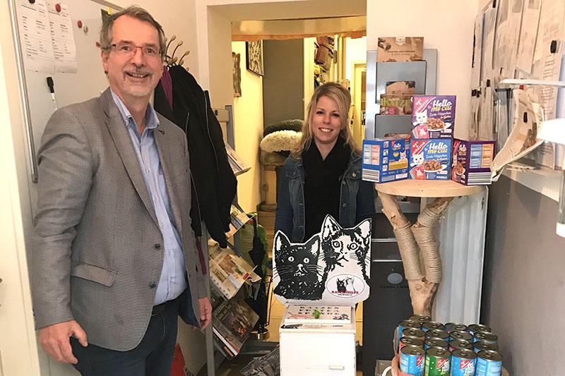 SPD Fraktion Neuwied unterstützt Katzenhilfe Neuwied