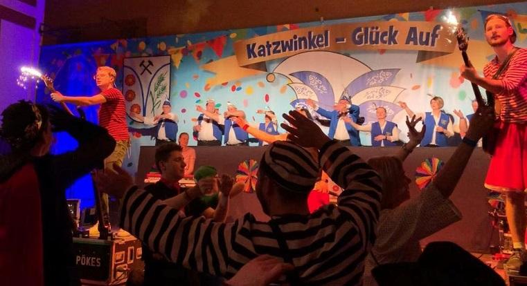 Jeckes Spitzenprogramm zur 28. Karnevalssitzung in Katzwinkel