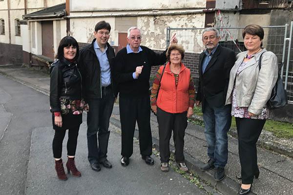 SPD informierte sich über Sachstand Kühne-Gelände