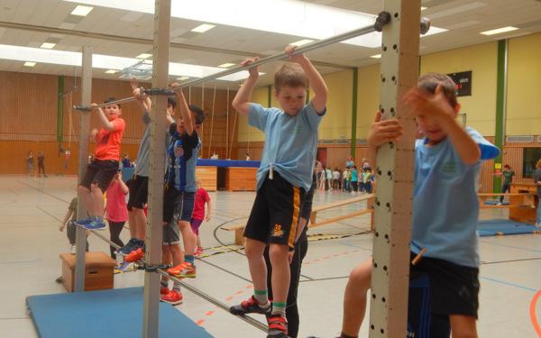 Kinderolympiade in Hamm mit viel Spa� am Sport