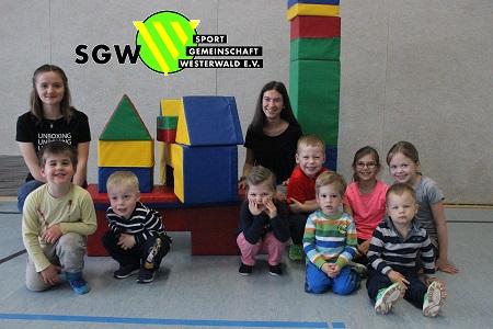 Kinderturnen ab 4,5 Jahren jetzt auch in Gebhardshain
