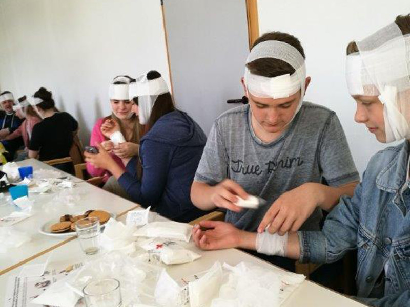 Erste-Hilfe-Kurs f�r Ehrenamtler