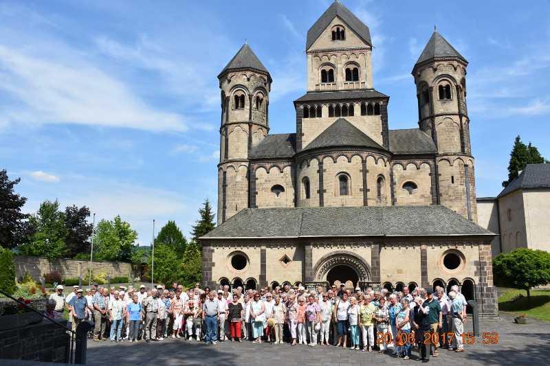 Senioren der VG Kirchen verbrachten sonnigen Tag in der Eifel
