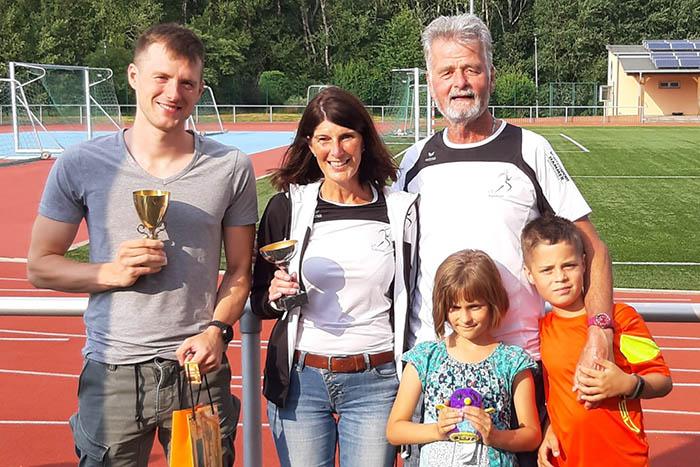19. Vereinsduathlon des Lauftreffs Puderbach - Blum und Klappert siegten
