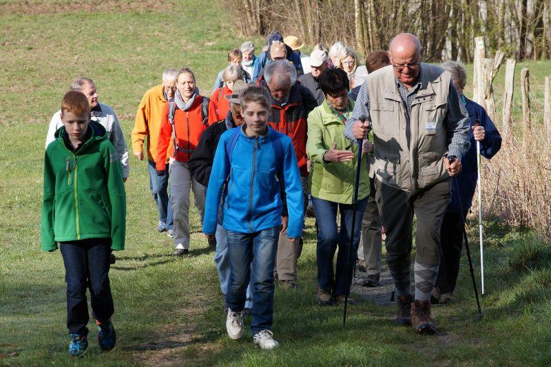 Gro�es Wanderfest in Limbach