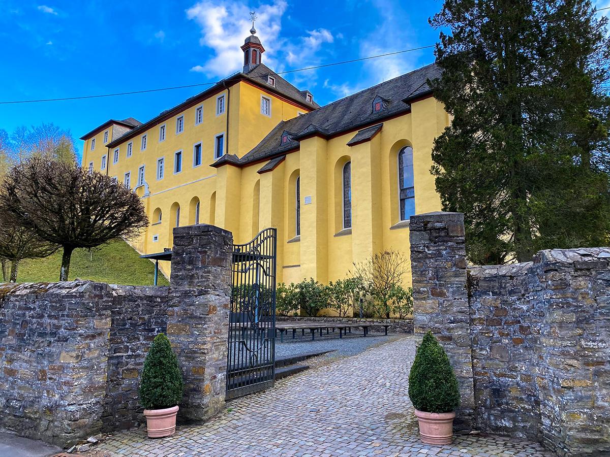 Ehemaliges Kloster Marienthal. Fotos: Björn Schumacher