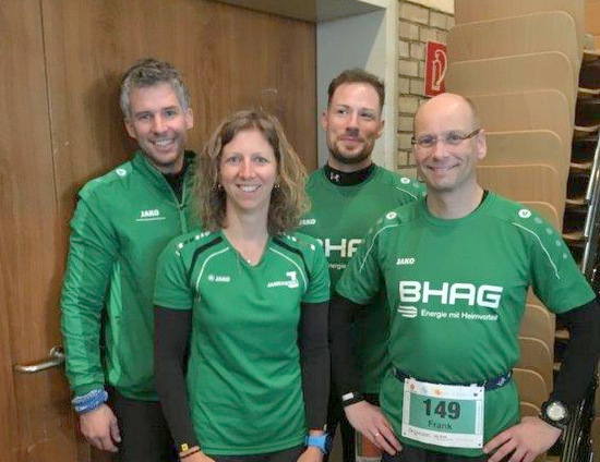 Horhausener liefen beim Königsforst-Marathon