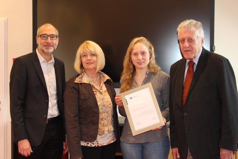 Hannah Kreymann bekommt Herbert-Rütten-Stipendium