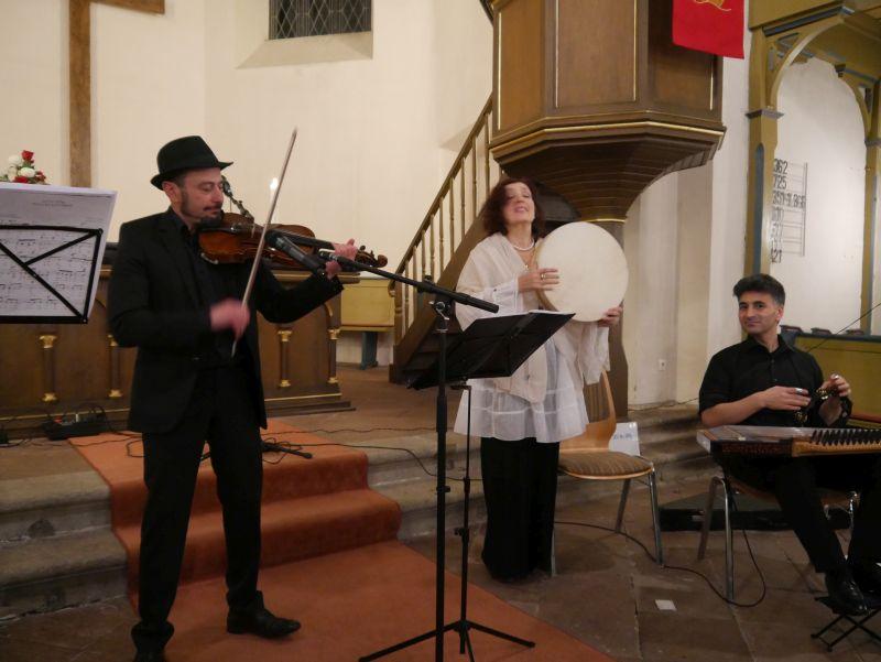 Bewegendes Konzert mit dem Ensemble Kol col�