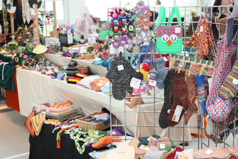 2. Kreativ- und Hobbymarkt in Kirchen bot mehr Vielfalt
