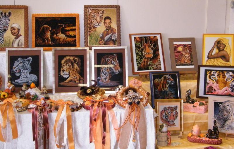Hobbykünstler stellen in Mündersbach aus