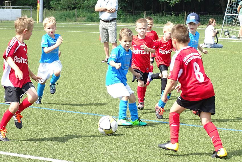Viel Spaß beim Kreis-Bambini-Tag des Fußballkreises WW/Sieg