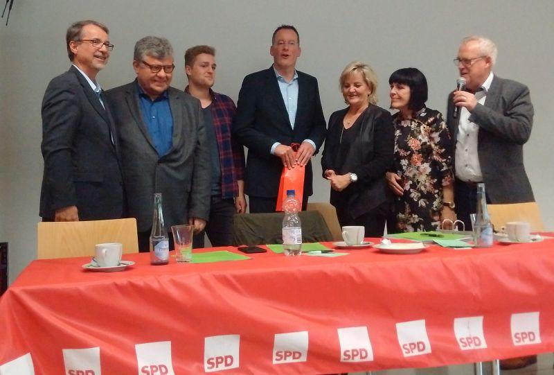 SPD-Kreisverband Neuwied: Kreiskonferenz mit Neuwahlen