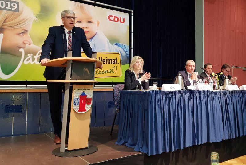 Westerwälder CDU erstellte Kandidatenliste für Kreistagswahl