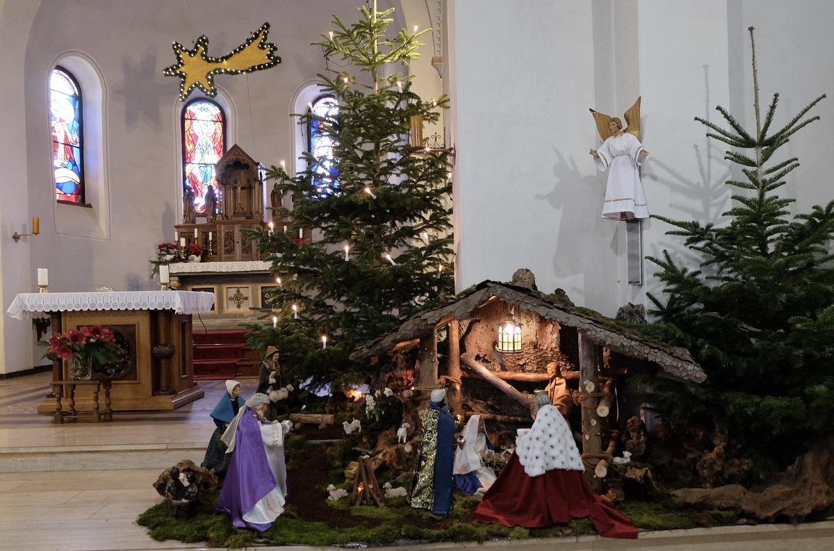Weihnachtskrippe in der St. Bonifatius Kirche in Elkhausen bleibt bis zum 2. Februar