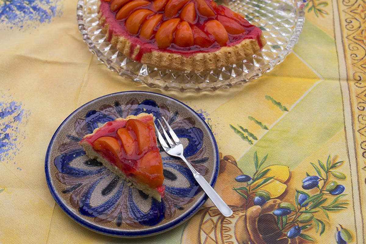 Westerwälder Rezepte - Obstboden mit frischen Aprikosen